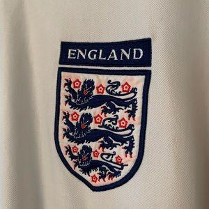Umbro Shirts - Umbro Authentic England World Cup Jersey Sz L